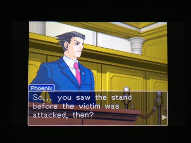 逆転裁判 北米版 フェニックス法廷200