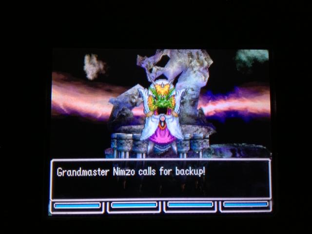 ドラクエ5 北米版 ニムゾ戦闘3