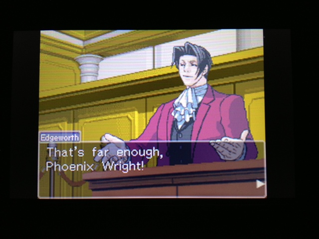 逆転裁判 北米版 フェニックス法廷240