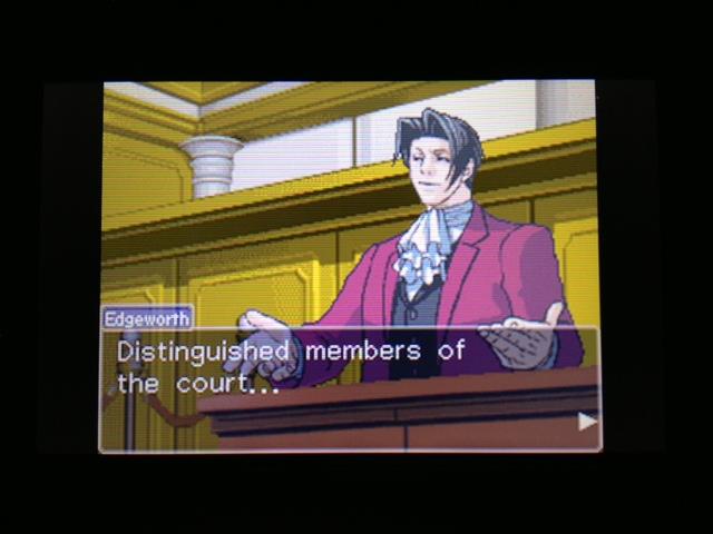 逆転裁判 北米版 フェニックス法廷249