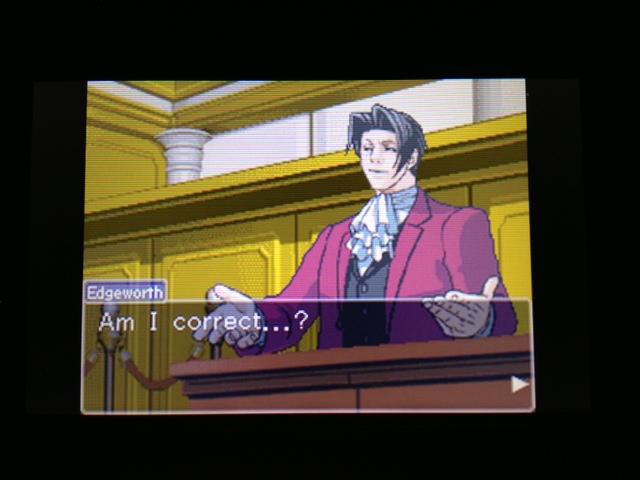 逆転裁判 北米版 フェニックス法廷257
