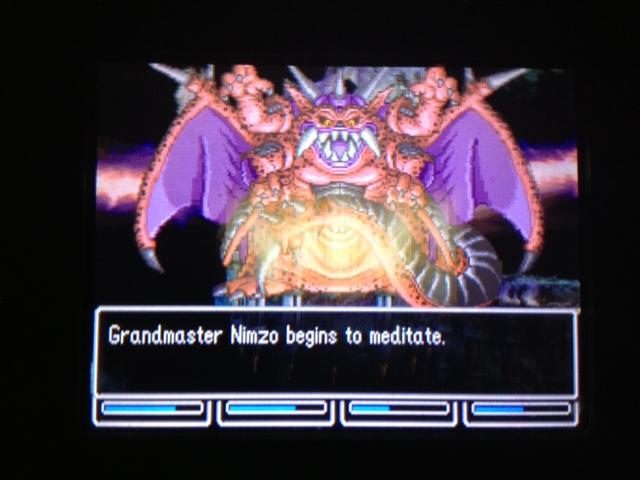 ドラクエ5 北米版 ニムゾ戦闘37
