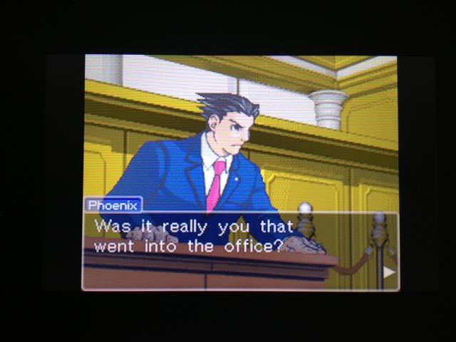 逆転裁判 北米版 フェニックス法廷291