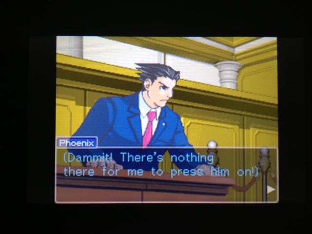逆転裁判 北米版 フェニックス法廷305