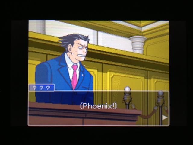 逆転裁判 北米版 フェニックス法廷314