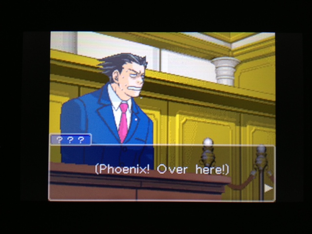 逆転裁判 北米版 フェニックス法廷316