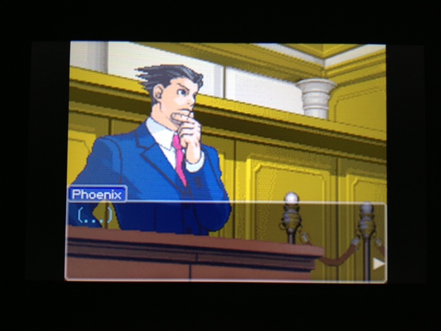 逆転裁判 北米版 フェニックス法廷318