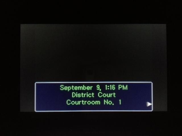 逆転裁判 北米版 フェニックス法廷再開1