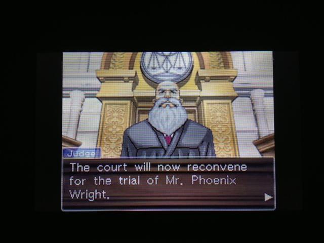 逆転裁判 北米版 フェニックス法廷再開2