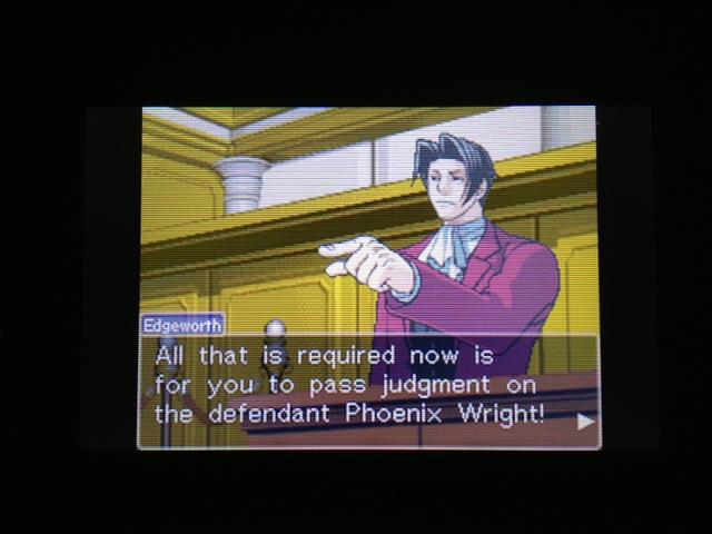 逆転裁判 北米版 フェニックス法廷再開8