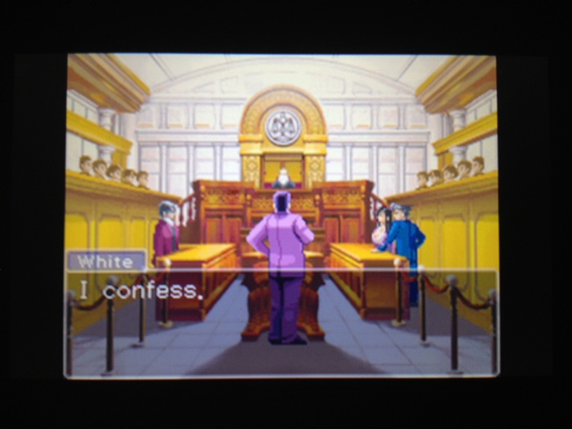 逆転裁判 北米版 フェニックス法廷再開96