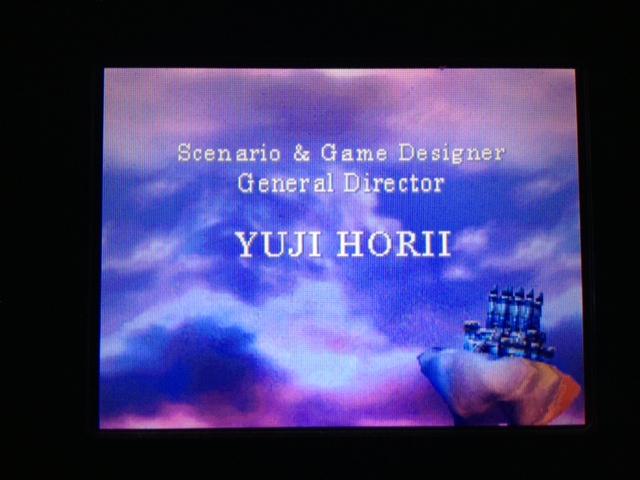 ドラクエ4 北米版 タイトル画面3