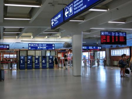 Länsiterminaali(西ターミナル駅)3