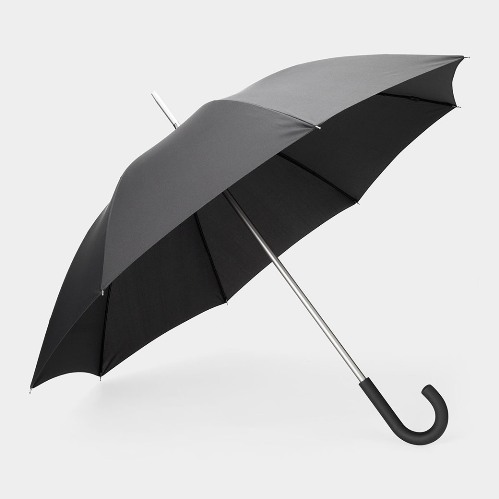 MoMA Black Stick Logo Umbrella(MoMA アンブレラ,ブラック)