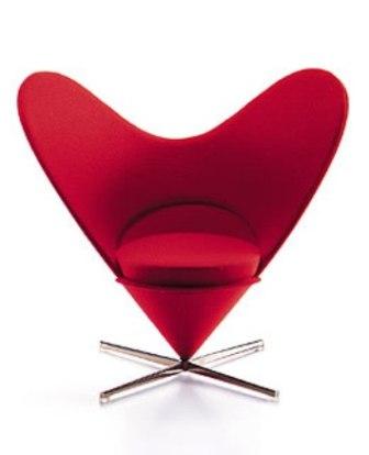 Heart-Shaped Cone Chair (miniature)( ハートシェイプト コーンチェア ミニチュア)Verner Panton (ヴェルナー・パントン)Vitra Design Museum( ヴィトラ・デザイン・ミュージアム)