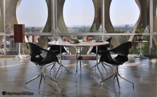 Nelson Swag Leg Group Round Dining Table (ネルソン スワッグレッググループ ラウンドダイニングテーブル)George Nelson( ジョージ・ネルソン)Herman Miller (ハーマンミラー)