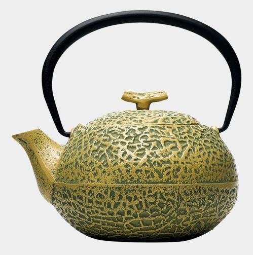 Cast Iron Melon Teapot(鋳鉄メロン急須) S. Iwashimizu,2005