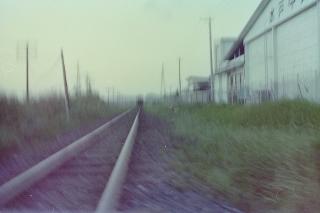 水郡線 青柳の踏切