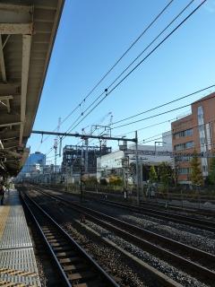 田町駅にて