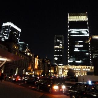 東京駅 丸の内口【夜景】