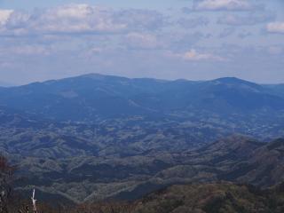 奥久慈 男体山からの八溝山