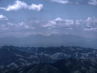 奥久慈 男体山から日光連山