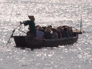 宮島遊覧観光 櫓櫂舟