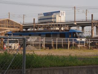 岡山機関区 EF210