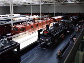 ジオラマ工房 リニア・鉄道館