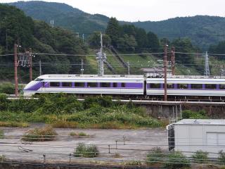 東武鉄道 100系 スペーシア 特急「けごん」