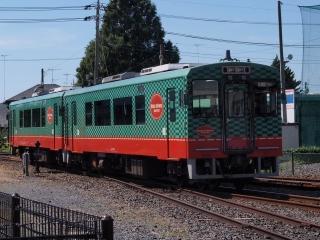 真岡鐵道 モオカ14形 気動車