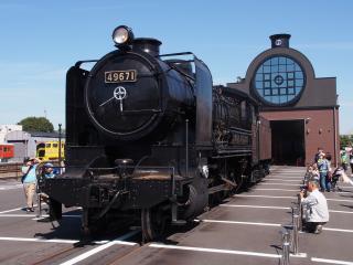 9600形蒸気機関車(49671号機)