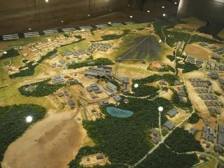 高萩炭礦資料館のジオラマ