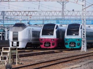 651系&E653系 電車