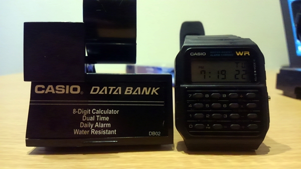CASIO DATA BANK CA-53W-1ZD