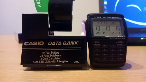 CASIO DATA BANK DBC32-1A