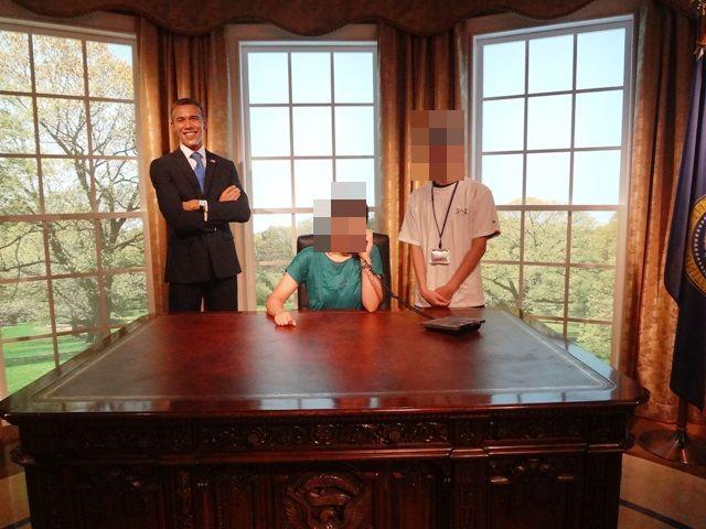 オバマ大統領と一緒に