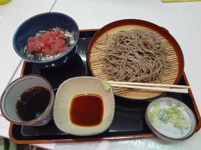 吉野家のマグロ丼セット