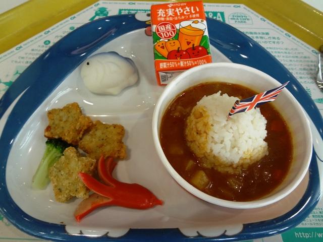 葛西臨海水族園のレストランのお子様ランチ