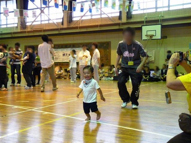 2歳の運動会