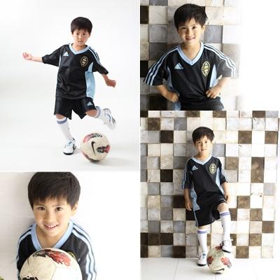 習い事 写真 サッカー 記念写真