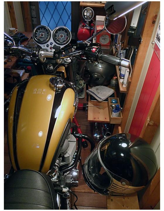 2012年12月30日のガレージ