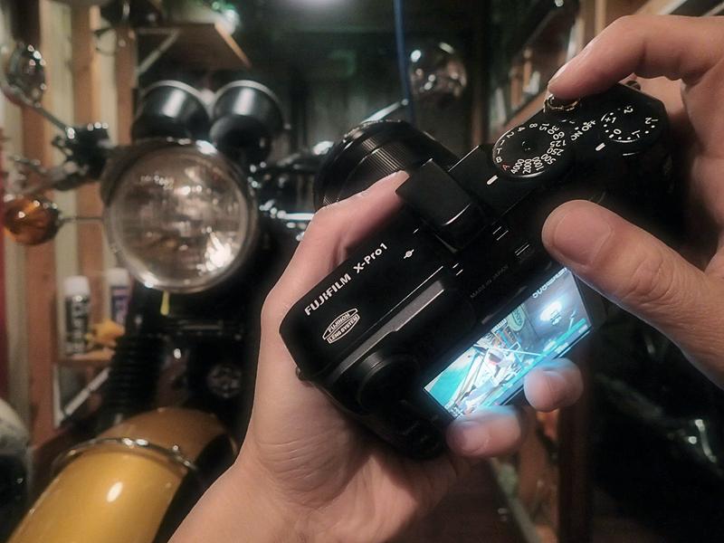 新しい(中古の)『本気カメラ』を手に入れる:FUJIFILM X-Pro1