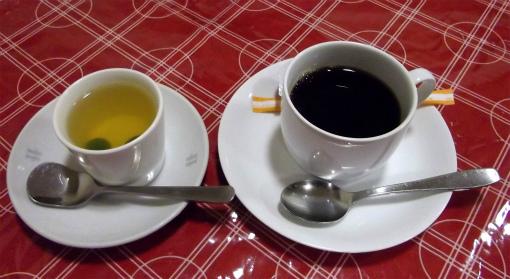 梅ゼリー&コーヒー