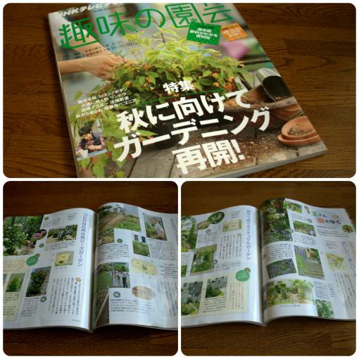 趣味の園芸テキスト9月号