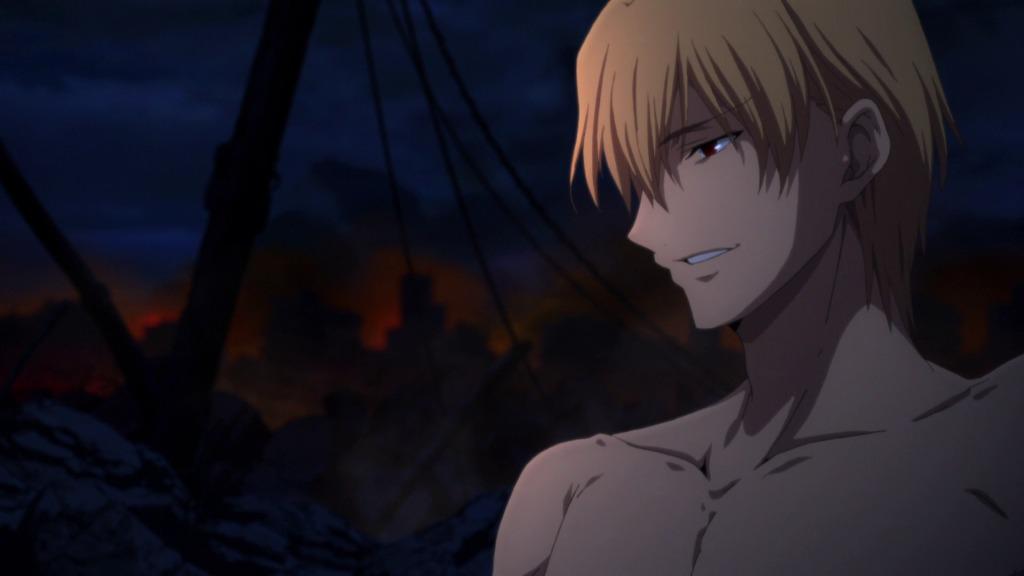 バカじゃないの Fate/Zero 第23話「最果ての海」 BDキャプ