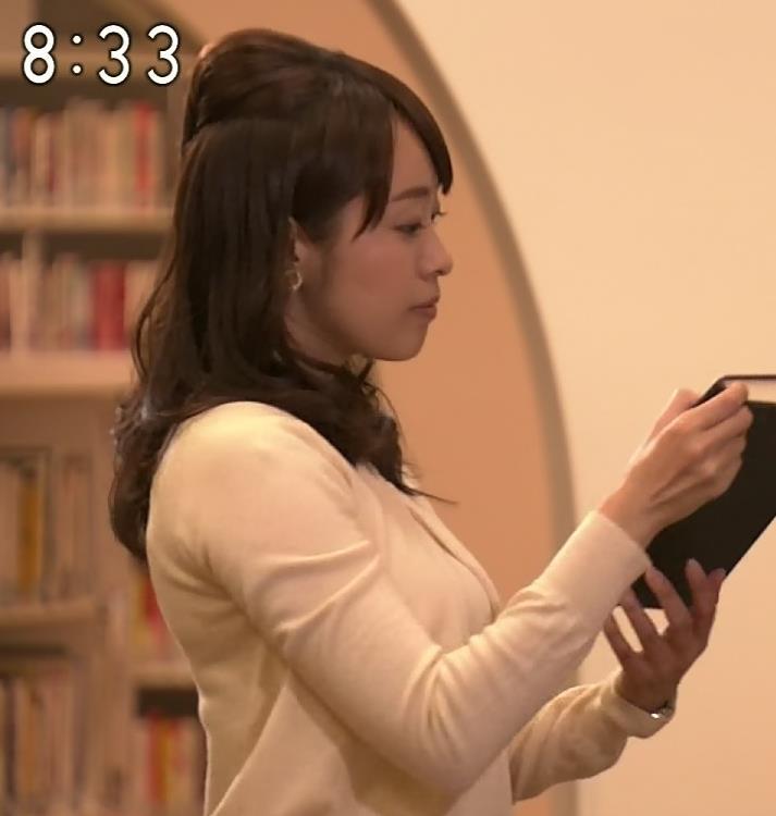 片山千恵子 巨乳横乳キャプ画像(エロ・アイコラ画像)