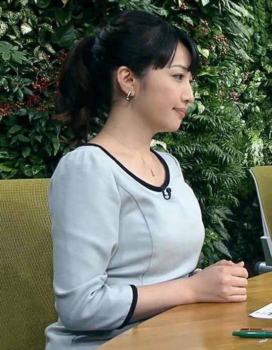 相内優香 ポニーテール巨乳横乳キャプ画像(エロ・アイコラ画像)