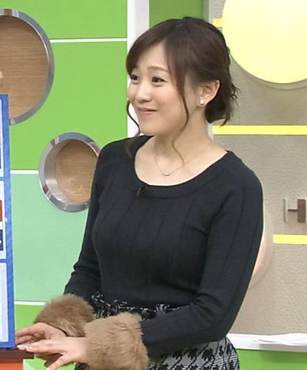 江藤愛 巨乳女子アナキャプ画像(エロ・アイコラ画像)