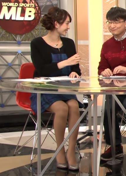 平原沖恵 ミニスカ美脚キャプ画像(エロ・アイコラ画像)